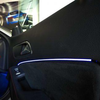 iluminación led coche