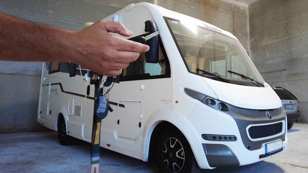 seguridad caravana